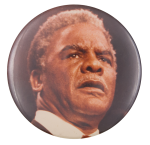 Harold Washington Photograph Political Button Museum