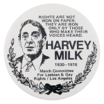 Harvey Milk Political Button Museum