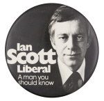 Ian Scott Liberal Political Button Museum