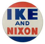 Ike and Nixon Political Button Museum