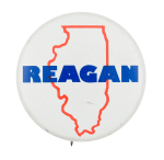 Illinois Citizens for Reagan Political Button Museum