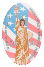 I'm for the New York Lady Political Button Museum