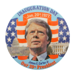 Jimmy Carter Inauguration Button Museum
