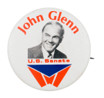 John Glenn U.S. Senate Political Button Museum