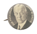 John W. Davis Political Button Museum