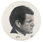 Kennedy Profile Political Button Museum