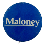 Maloney Political Busy Beaver Button Museum