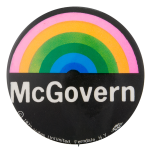McGovern Rainbow Political Button Museum