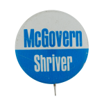 McGovern Shriver Political Busy Beaver Button Museum