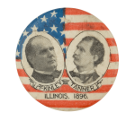 McKinley Tanner Illinois Political Button Museum