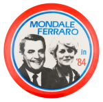 Mondale Ferraro in '84 Political Button Museum