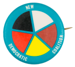 New Democratic Coalition Political Button Museum
