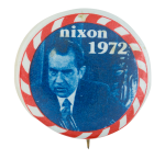 Nixon 1972 Political Button Museum