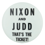 Nixon and Judd Political Button Museum