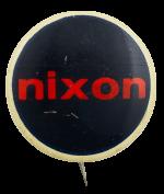 Nixon Political Busy Beaver Button Museum