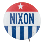 Nixon Star And Stripes Political Button Museum