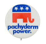 Pachyderm Power Political Button Museum