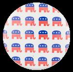 Republican Elephants Political Button Museum