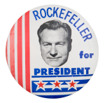 Rockefeller for President Political Button Museum