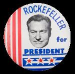 Rockefeller for President Political Button Museum