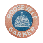 Roosevelt Garner Political Button Museum
