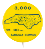 3000 for Cecil Political Button Museum