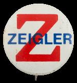 Zeigler Political Busy Beaver Button Museum