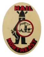 Hail Northeast High School School Busy Beaver Button Museum