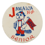 Jamaica High School Senior Schools Button Museum
