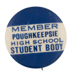Poughkeepsie High School Schools Button Museum