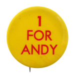 One For Andy Social Lubricators Button Museum