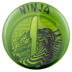 Ninja Dragon Knife Social Lubricator Busy Beaver Button Museum