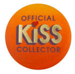 Official Kiss Collector Social Lubricator Busy Beaver Button Museum