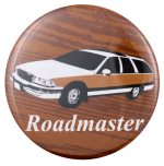 Roadmaster Station Wagon Ice Breakers Busy Beaver Button Museum