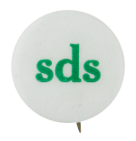 Sds Students for a Democratic Society Ice Breakers Button Museum