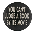 Can't Judge a Book by Its Movie Ice Breakers Button Museum