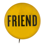 Friend Social Lubricators Button Museum