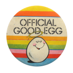 Official Good Egg Social Lubricators Button Museum
