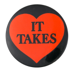 It Takes Heart Music Button Museum