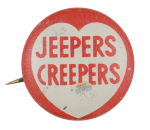 Jeeper Creepers Ice Breakers Button Museum