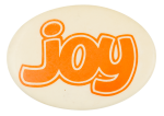 Joy Oval Ice Breakers Button Museum