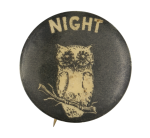 Night Owl Social Lubricators Button Museum
