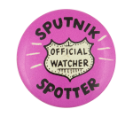 Sputnik Spotter Ice Breakers Button Museum