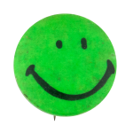 Green Smiley Smileys Button Museum