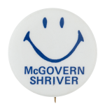 McGovern Shriver Smile Smileys Button Museum