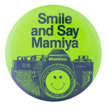 Smile and Say Mamiya Smileys Button Museum