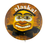 Alaska Smiley Smileys Button Museum