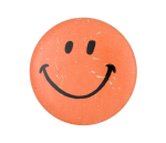 Orange Smiley Smileys Button Museum