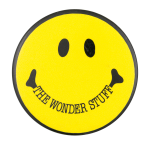 The Wonder Stuff Smileys Button Museum