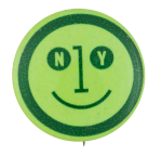 T.W.A. New York Smiley Smileys Button Museum